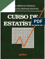 LIVRO Curso de Estatística - Fonseca e Martins