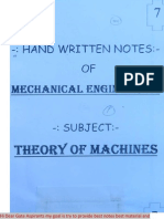 ME 7.Theory of Mechanics