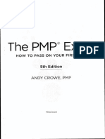 The PMP Exam by Andy Crowe - 5th Edition - Gift for All PMP Students