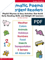 101 Thematic Poems for Emergent Readers