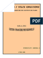 Gestion Financiere Previsionnelle