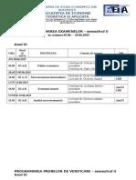 Examene Anul III Sem II 2015 SEM II