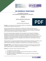 Codigo Organico Tributario 2015