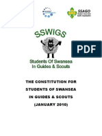 The Constitution for Students of Swansea In