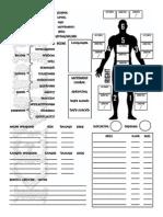 Character Sheet No Fields