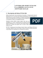 Cinemática Inversa Del Robot Puma 560 Usando La Librería A