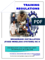 TR - Broadband Installation (Fixed Wireless Systems) NC II
