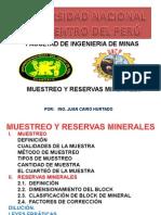 Tema 10 - Mg-muestreo y Reservas