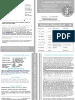 Newsletter 96 6:7th June 2015