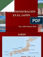 Administracion en El Japón 2015
