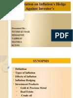 Presentation on Investor_s Hedge Against Inflations2