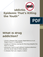 Drug Addiction PPT