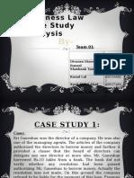 Case Presentation Group 1