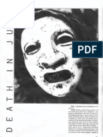 Death in June [Douglas Pearce] 1993 Interview Fist Zine Issue 5