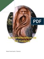 Análisis Características de Las Maderas