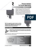 Pressure Switches for Process Applications Gi496