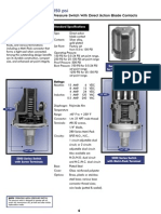 Honeywell Sensing Switch 5000 Series Productsheet
