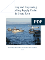 Analyzing and Improving the Costa Rican Fishing Supply Chain