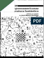Sardiñas, J.M. (Ed.) (2007). Teorías Hispanoamericanas de La Literatura Fantástica