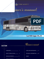 2002 Prevost XLII Owners Manual