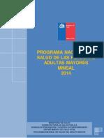 MINSAL Programa Nacional de Personas Adultas Mayores