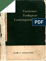 Mackintosh, Hugh R. - Corrientes Teológicas Contemporáneas COMPLETO