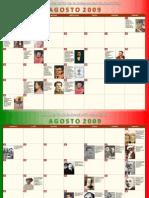 Calendario Cívico Escolar 2009-2010