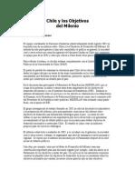 Chile y Los Objetivos Del Milenio