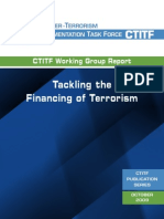 Tackling the Financing of Terrorism
