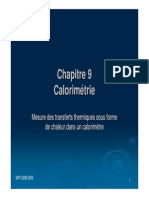 9-Calorimetrie