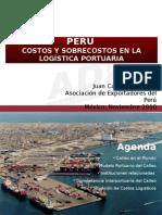 Docs Documentos Importantes PresentacionesIxtapa J Leon CostosYSobrecostosEnLaLogisticaPortuaria
