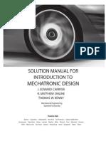 Introduction to Mechatronic Design Matthew Ohline