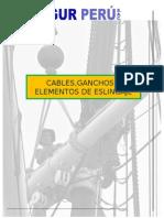 Curso Completo de Cables, Ganchos y Elementos de Eslingajes, Trasegur Perú