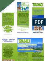 yahu brochure - pdf