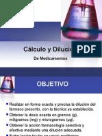 Cálculo y Dilución