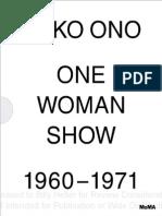 Yoko Ono Moma 2015