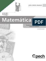 Ecuaciones y Sistemas de Ecuaciones.