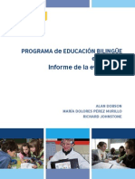Bilingual Education Project Spain Evaluation Report Es