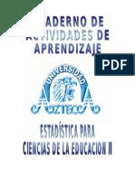 Instrumento Estadistica Ciencias de La Educación II 0421 Iop