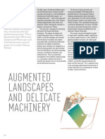 Augmented Landscape and Delicate Machinary