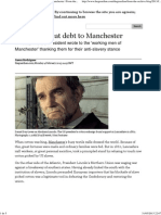 From the Archive_ 1863, Lincoln's Great Debt to Manchester _ From the Guardian _ Theguardian