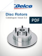 Catalogue ACDelco Brake Rotors (Australian)