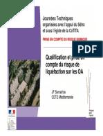 JT Seisme 2012 J2 4 Qualification Prise en Compte Liquefaction V1