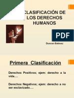 Clasificacion de Los Derechos Humanos[1]