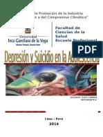 Depresion y suicido en la adolescencia