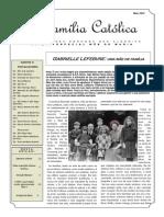 A Família Católica, 24 Edição, Maio 2015