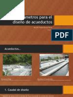 Parámetros Para El Diseño de Acueductos