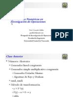 Clase Aplicaciones Numéricas en Investigación de Operaciones 09