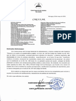 Circular CSJ Acerca Del Arto. 425 CF