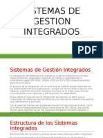 Sistemas de Gestion Integrados
